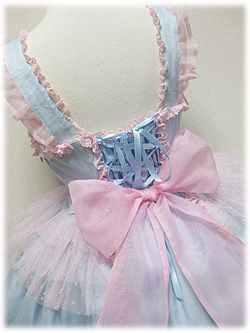 """kawaiitatsu: """" I've never seen this before, but I really love it! ✧*:・゚✧ Candy Fairy by Angelic Pretty ✧ JSK ✧ OP ✧ """""""