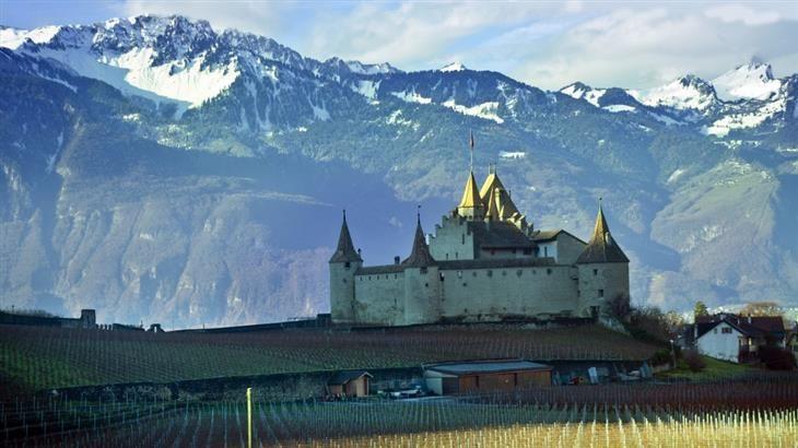 10 Encantadores Castillos Suizos | Viajes - Todo-Mail
