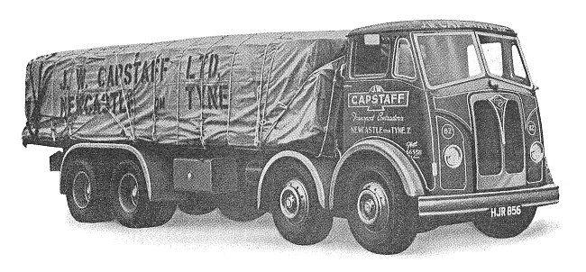 A final Invincible 8-wheel lorry