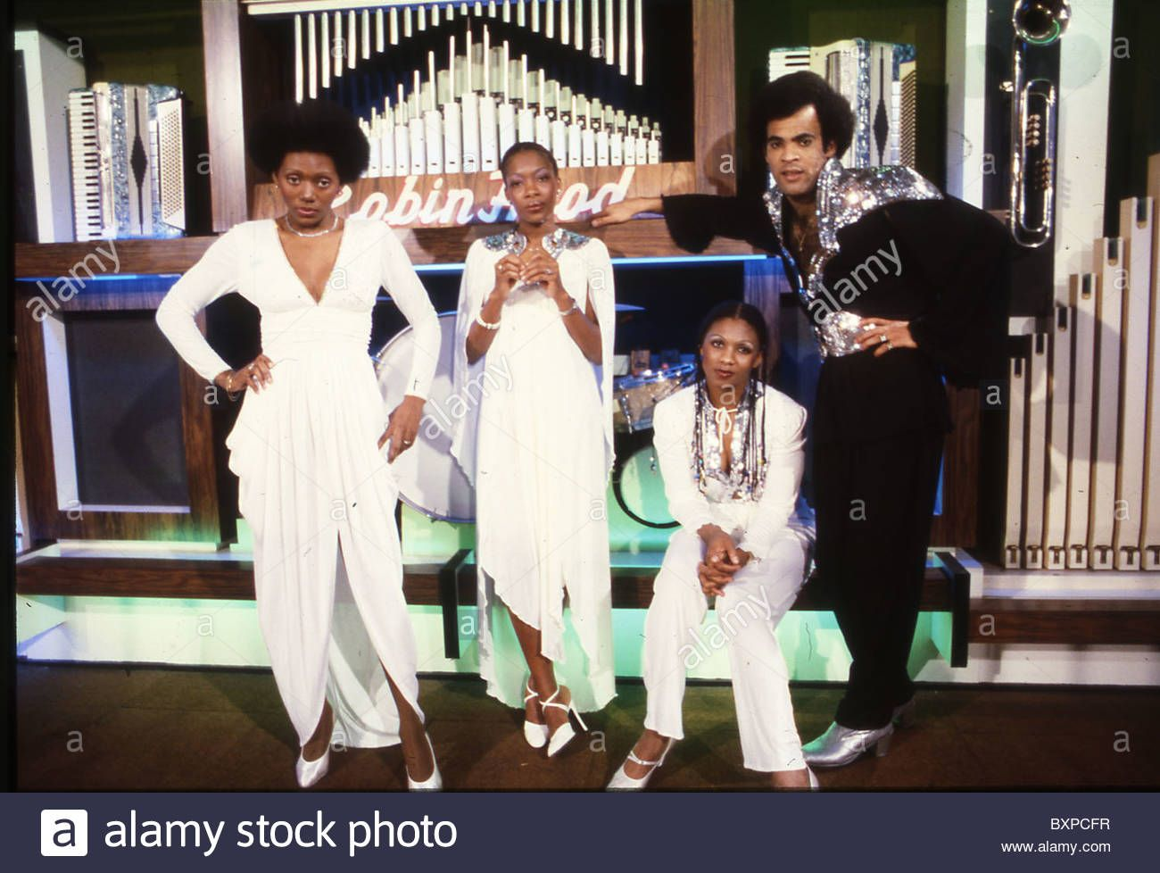 Boney M German Pop Group With Bobby Farrell About 1977