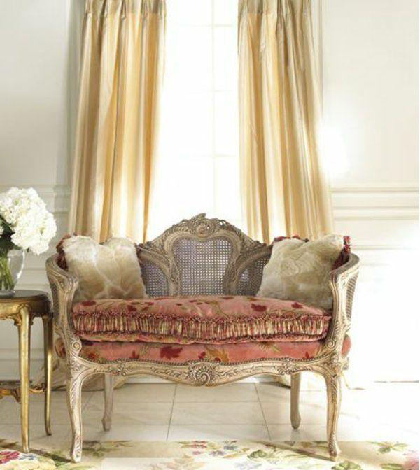 französische landhausmöbel couch polstermöbel kompakt Ideen rund - franzosischen stil interieur ideen