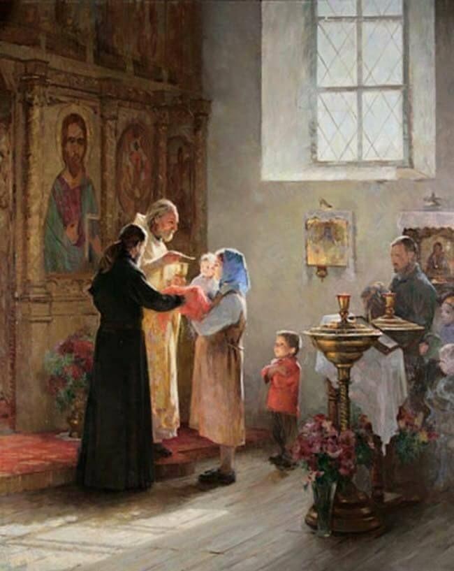 Картинки крещение детей на руси, смешные