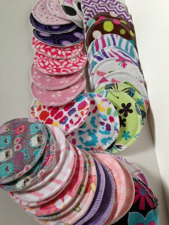 Reusable Nursing Pads, 6 pairs (12 pads), Washable