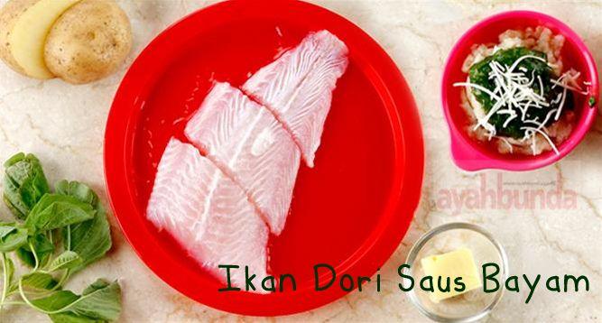 Ikan Dori Saus Bayam Dori Fish With Spinach Sauce Klik Link Di Atas Untuk Mengetahui Resep Ikan Dori S Resep Makanan Bayi Makanan Pendamping Makanan Bayi