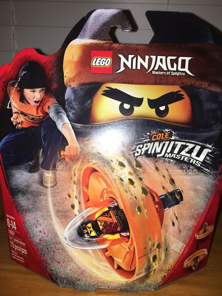 Lego Ninjago Spinjitzu Master Cole 70637 NEW
