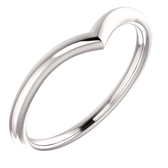 V Contour Wedding Band Women S Plain V Shaped Curved Wedding Band Contour Wedding Band Curved Wedding Band Wedding Ring Shapes