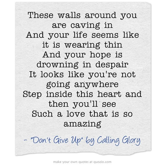 Amazing Love That Brings Me Hope Song Quotes Quotes Songs