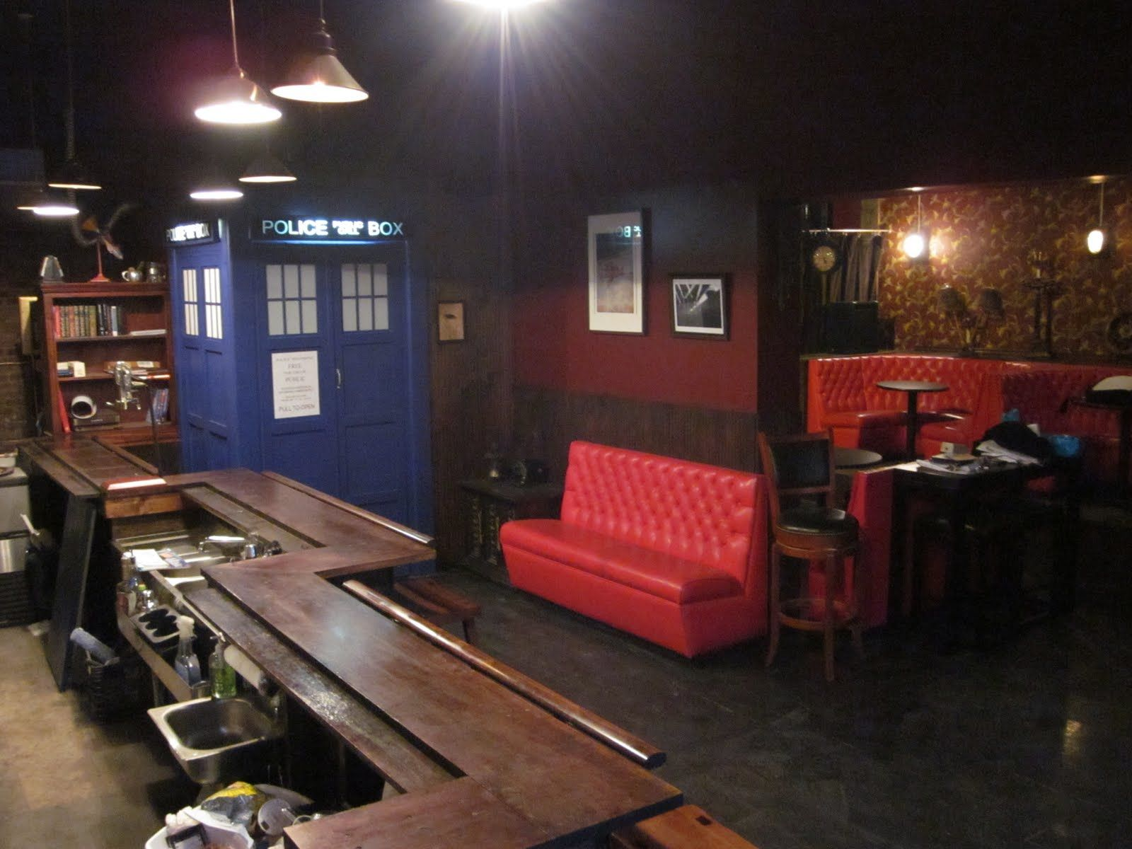Bar In Brooklyn, New York Inspired And Built On The
