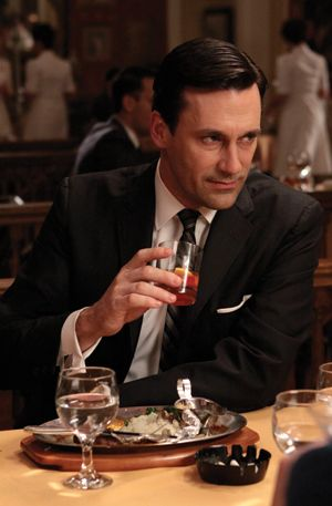 Don Draper Of Mad Men Played By Jon Hamm With His Old Fashioned