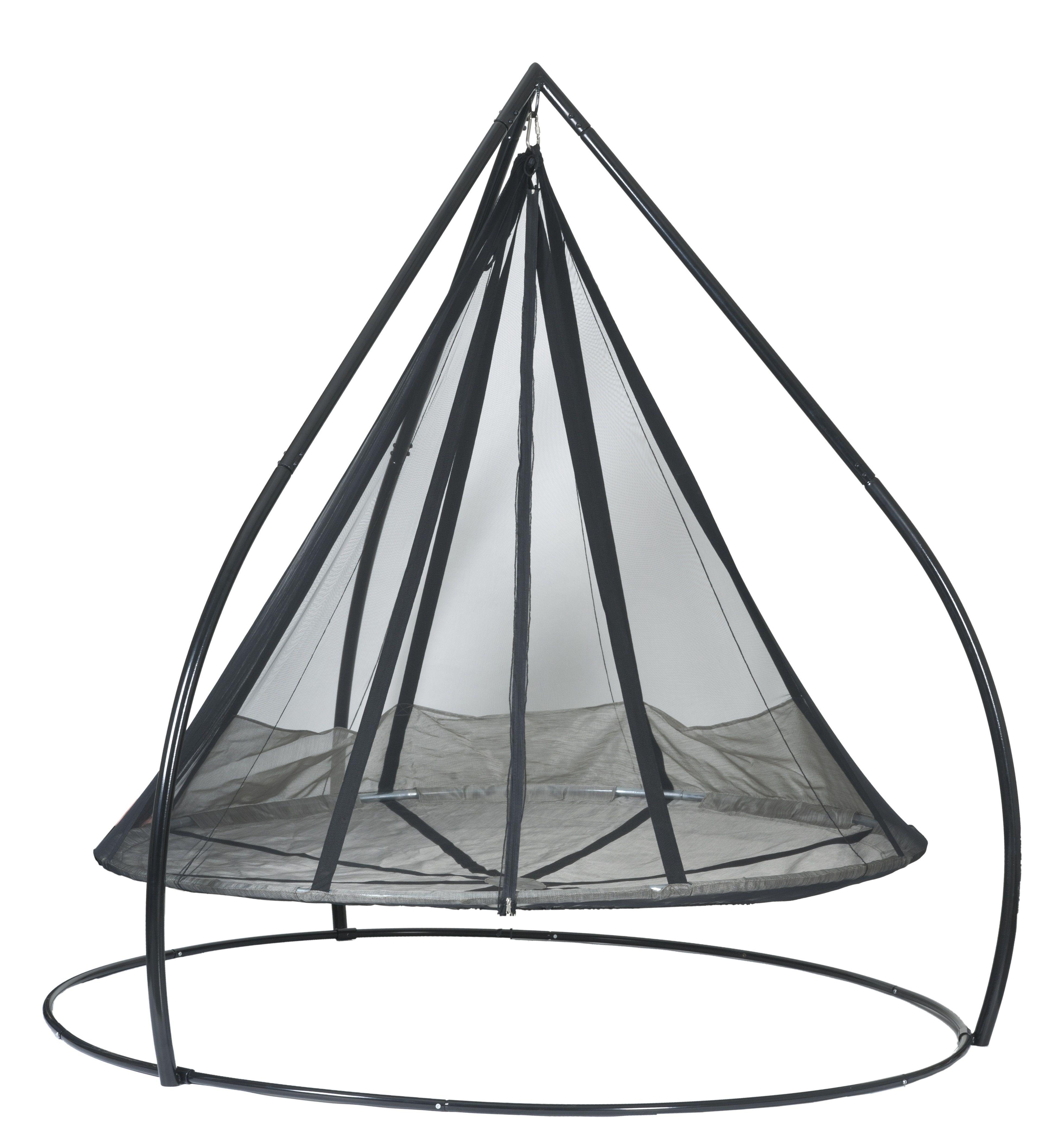 7ft Dia Hanging Hammock Flying Saucer W Bird Amp Bug Net