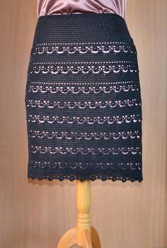 Materiales gráficos Gaby: Tapados y faldas en crochet