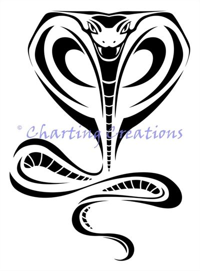Tribal Cobra Tribal Pinterest Forma De Tatuaje