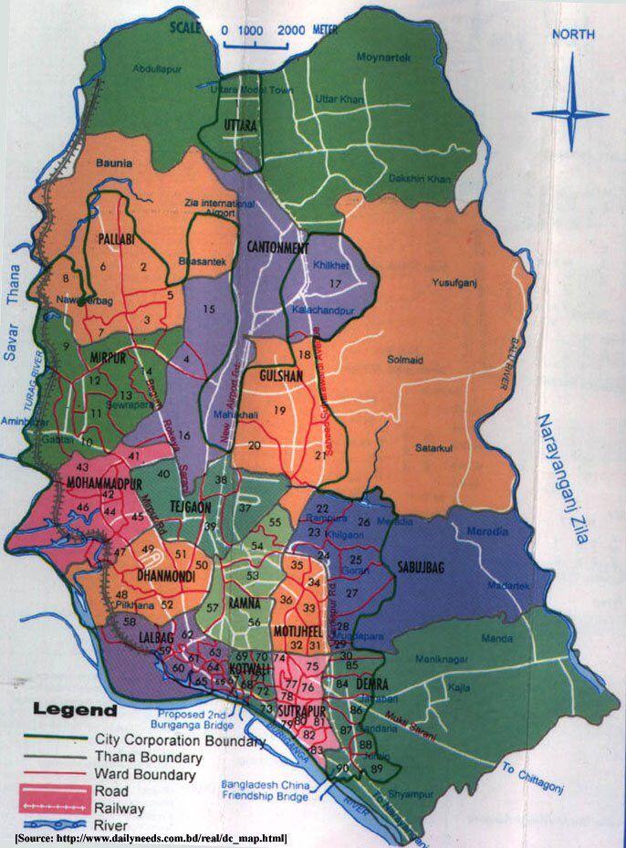 dhaka city map bangladesh Map Of Dhaka City Dhaka Dhaka Bangladesh Bangladesh dhaka city map bangladesh