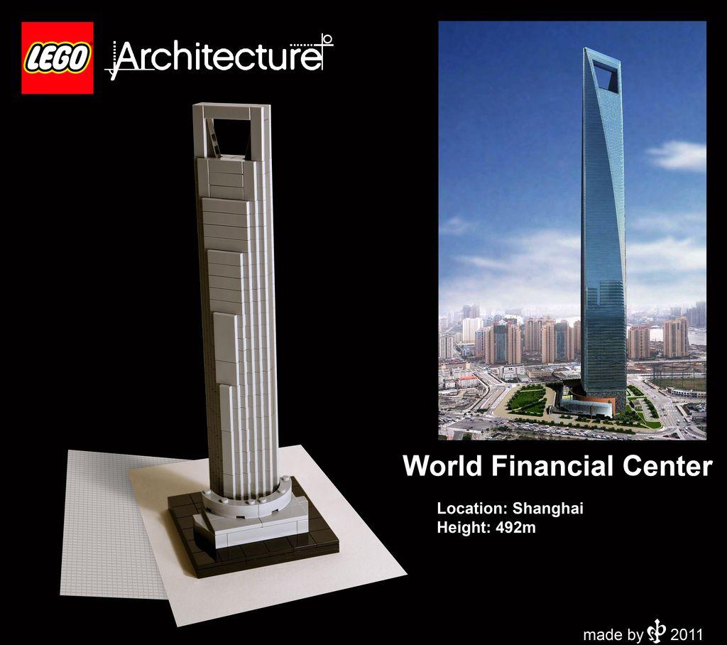 world financial center lego architecture lego and lego ideas