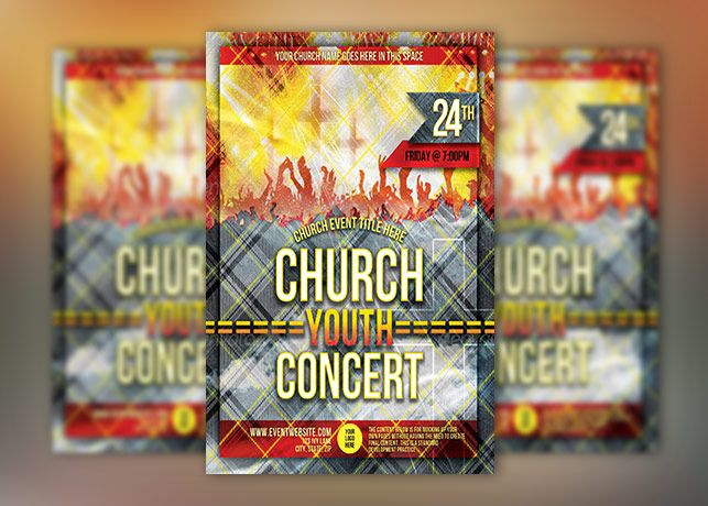 Church Group Concert Flyer Template Have An Upcoming Concert Or