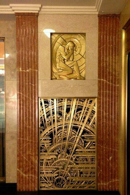 Vintage Architecture Interiors Art Deco Sculptures Design Bronze
