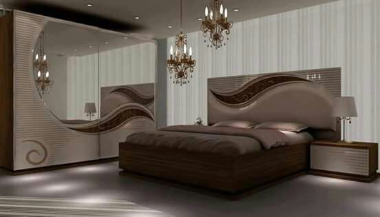 Chambre A Coucher Ensemble Deux Tons Chambre Inspirationchambre Idmaison Relooking Inspi Modern Bedroom Interior Bedroom Design Bedroom Furniture Design