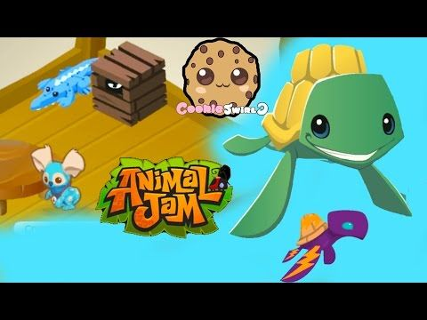 Cookieswirlc Plays Online ANIMAL JAM Gaming Video Creating