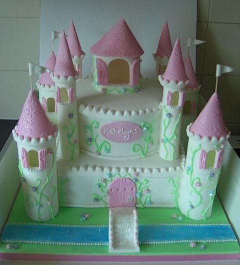 Fairy Tale Castle Cake Fairy Castle Cake
