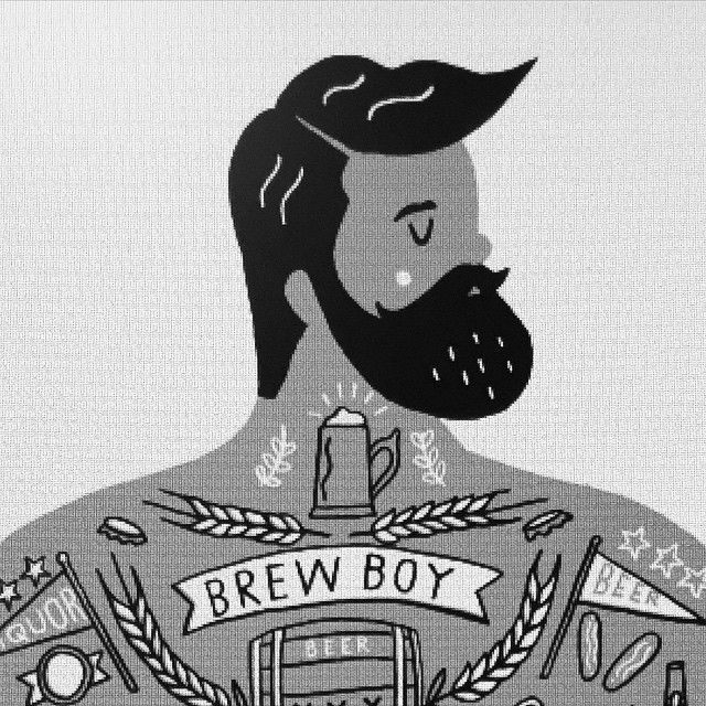 Sneaky peek of an exclusive screen print I've been working on. This sexy brute…