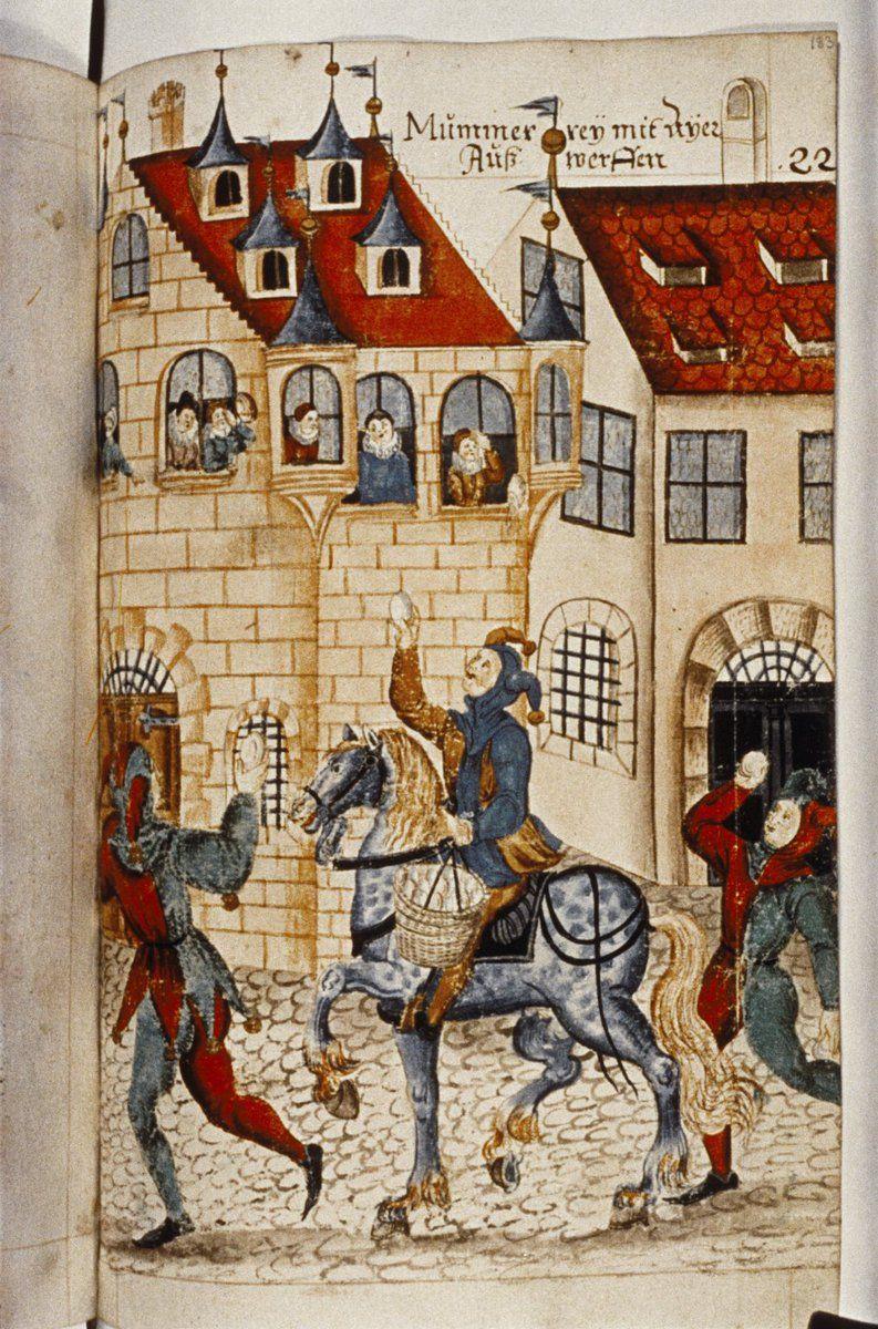 картинки средневековья домашних вырезание