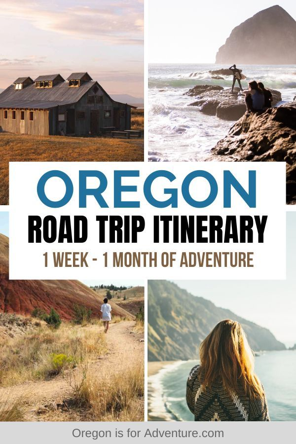 Best Oregon Road Trip Itinerary