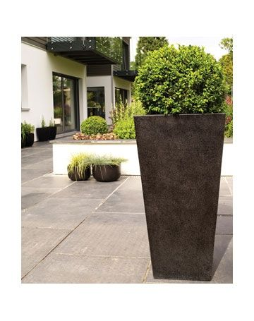 Picture Of Studio Lite Tall Square. Patio PlantersResinsPictures OfOutdoor  Living