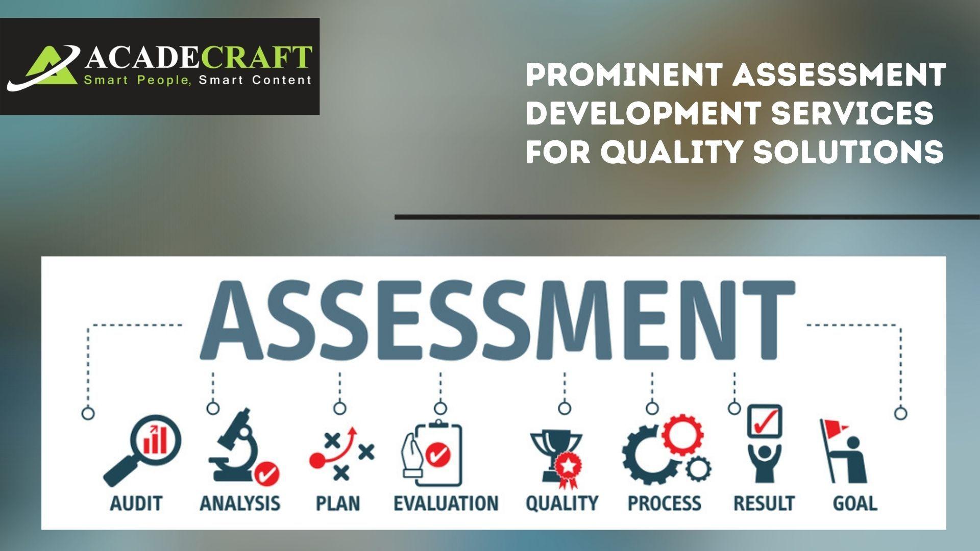 Assessment Development Services Higher Order Thinking Skills Assessment Online Assessments