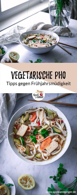 Vegetarische Pho #vegetarischerezepte