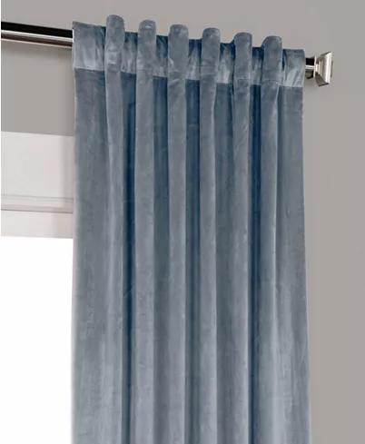 Exclusive Fabrics Furnishings Heritage Plush Velvet 50 X 108