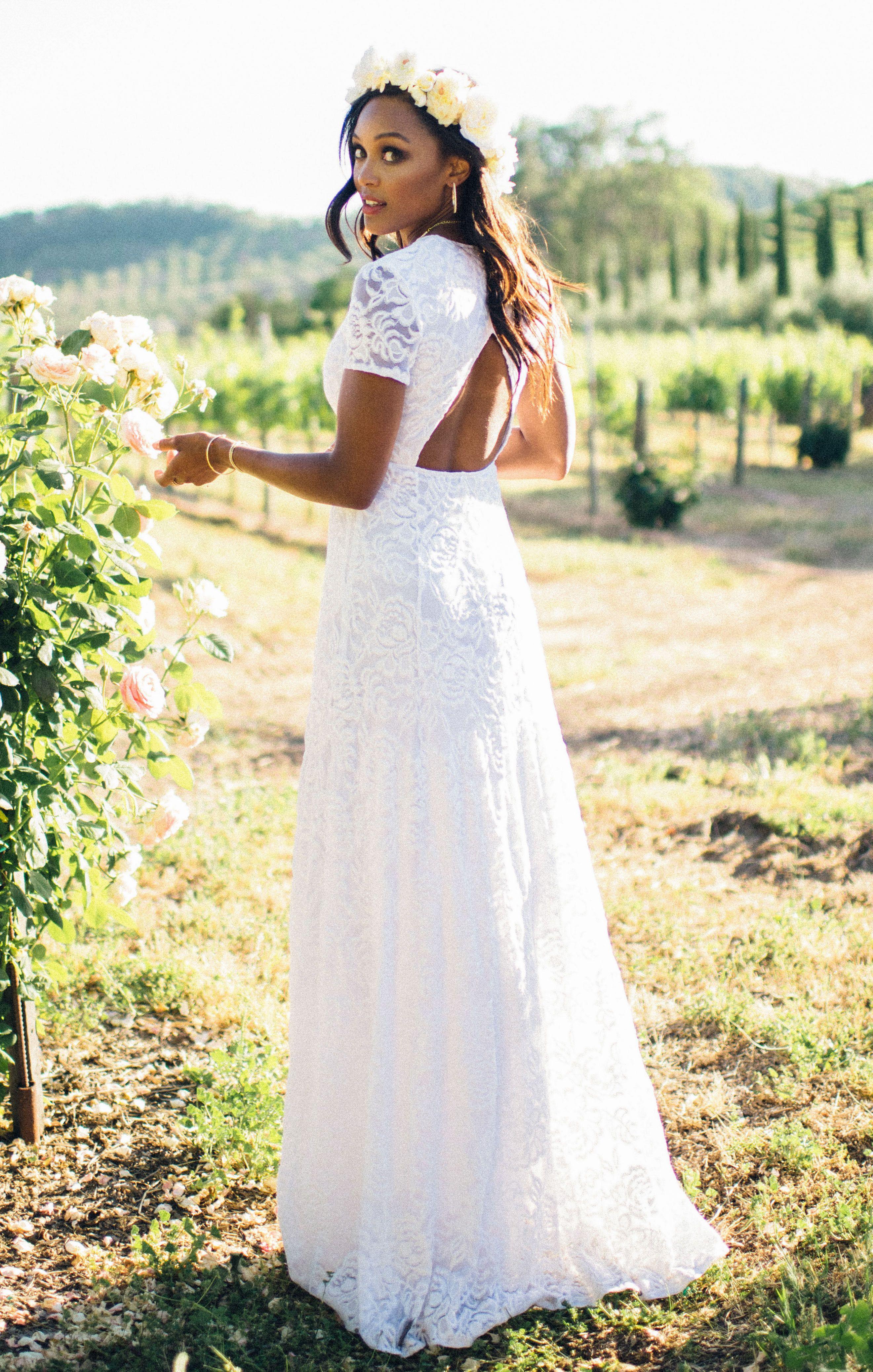 b72cf319937 Eleanor Maxi Dress ~ Lovers Lace White