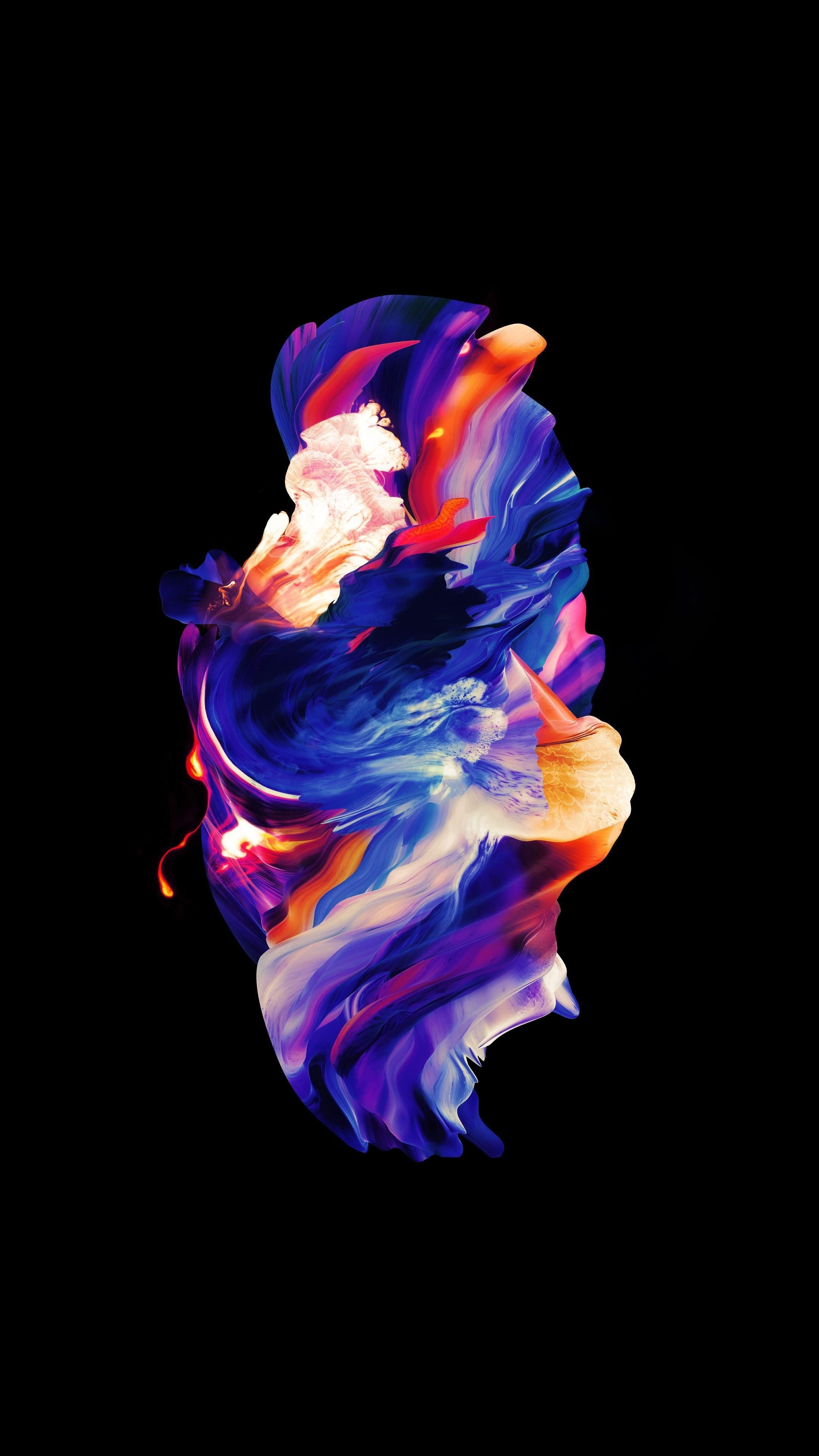 Amoled Multicolor Bubble Oneplus Wallpapers Minimalist Wallpaper Abstract Iphone Wallpaper