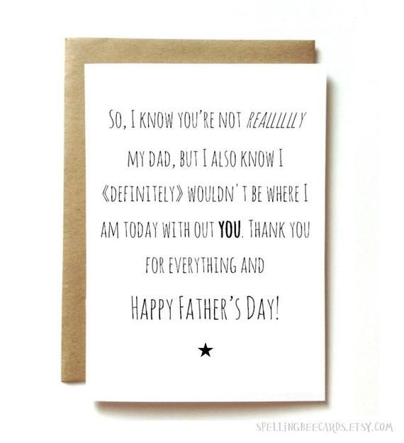 742187ef6af29 Step Father's Day card for step dad, like a father, happy fathers ...