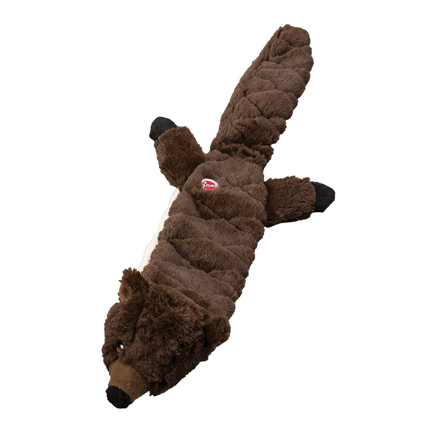 Ethical Pets Beaver Skinneeez Extreme Stuffingless Quilted Dog Toy