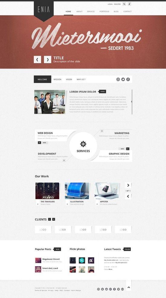 Nice Webdesign