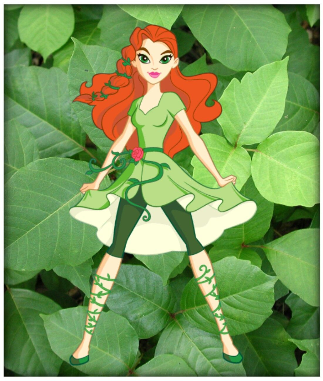 Dc Super Hero Girls Poison Ivy Dc Not Only Made Their Dolls