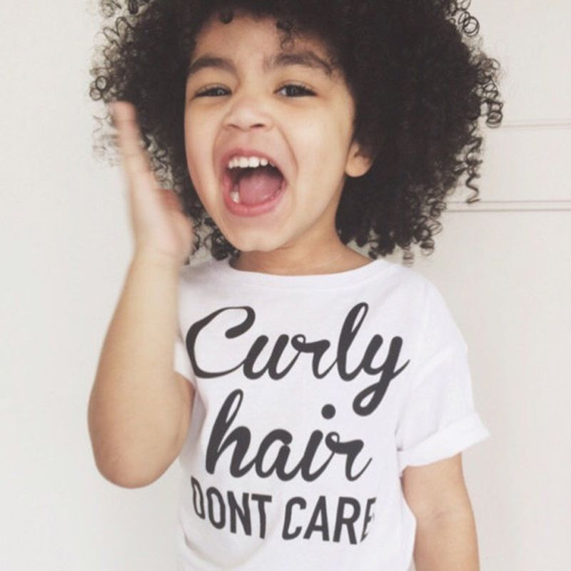 Click To Buy Curly Hair Don T Care Tee Curly Hair Don T Care Shirt Toddler Girl Tees Gift Ideas Toddler Toddler Girl Tees Curly Hair Styles Toddler Tees