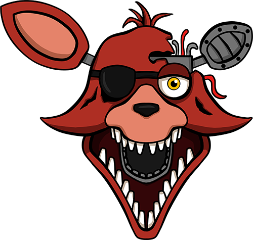 Five Nights At Freddy S 2 Foxy Shirt Design By Kaizerin Five Nights At Freddy S Fnaf Drawings Fnaf Foxy