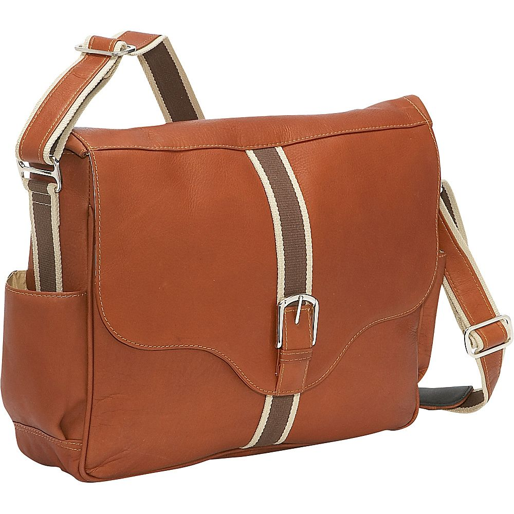 Piel European Laptop Messenger Bag