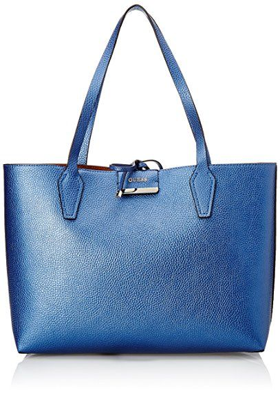 Guess Damen Hwvg6422150 Shopper, Blau (Blue Cognac
