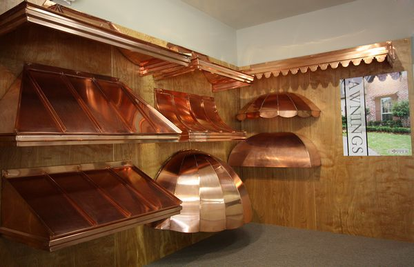Copper Awnings For Doors