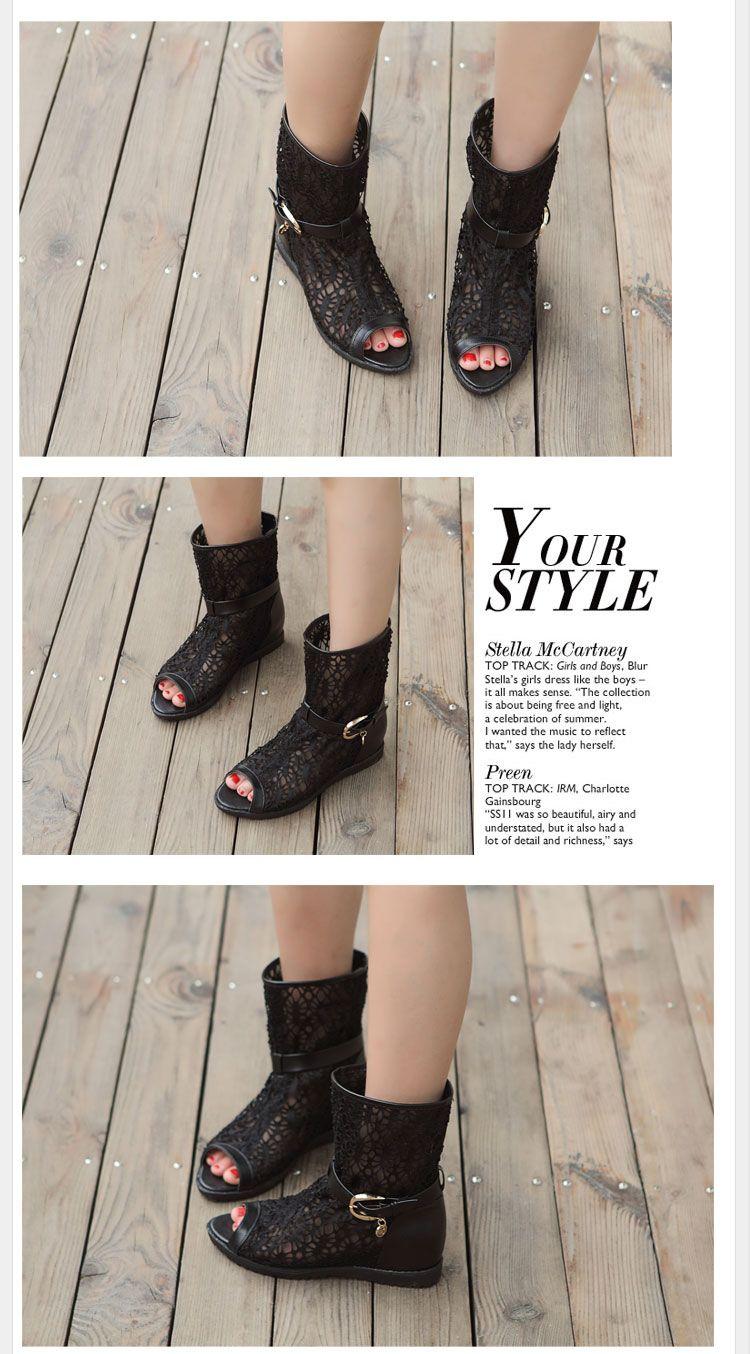 2014 春 新作 レディース サンダル/ミュールシューズ ブーツ かぎ編みレース サンダル Flat-Shoes-lace-125W [Flat-Shoes-lace-125W] - ¥8,598円 : メンズとレディースとキッズのファッション|バッグ|財布|シューズ|ジュエリー|最新人気アイテムの通販公式サイト:ROSO(ロソ)