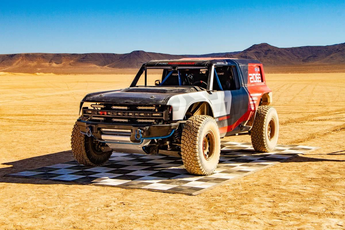 Ford Introduces Baja Ready Bronco R Race Prototype Ford Bronco
