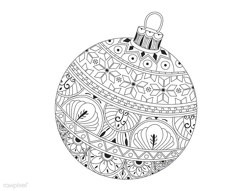 29+ Christmas doodle art coloring pages ideas in 2021