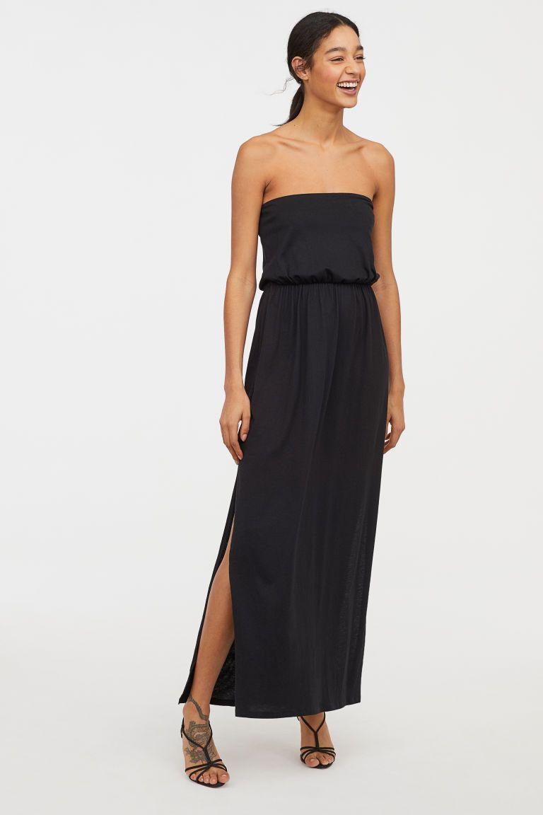 Maxi Dress Black Ladies H M Gb Maxi Dress Black Maxi Dress Womens Fashion Dresses Casual [ 1152 x 768 Pixel ]