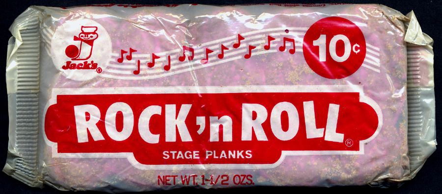 Rock N Roll Stage Planks Roll Cookies Old School Candy Cookie Company