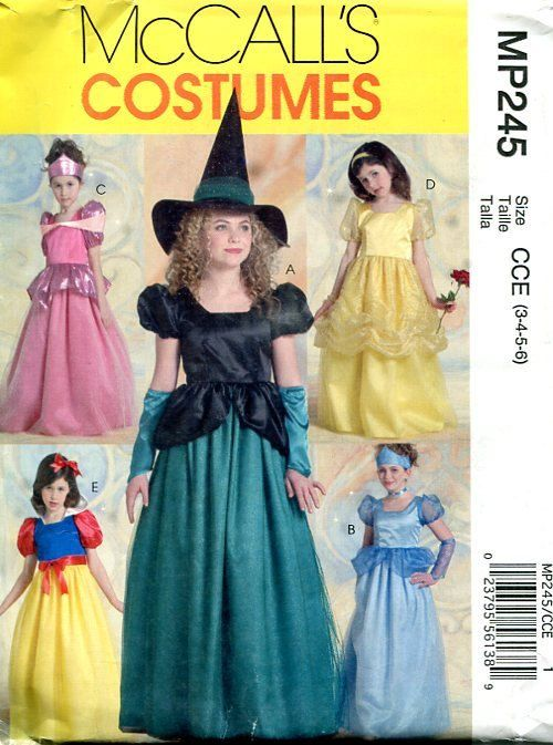 Special Occasion Dresses Child Sizes 3-6 Simplicity Pattern No.2463 Uncut