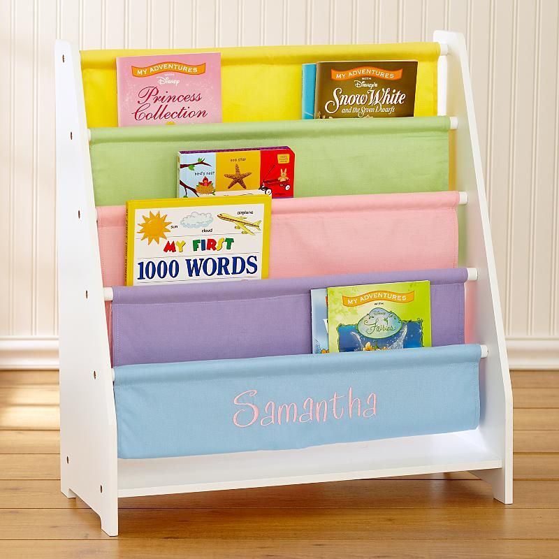Kids Canvas Bookcase Personalized