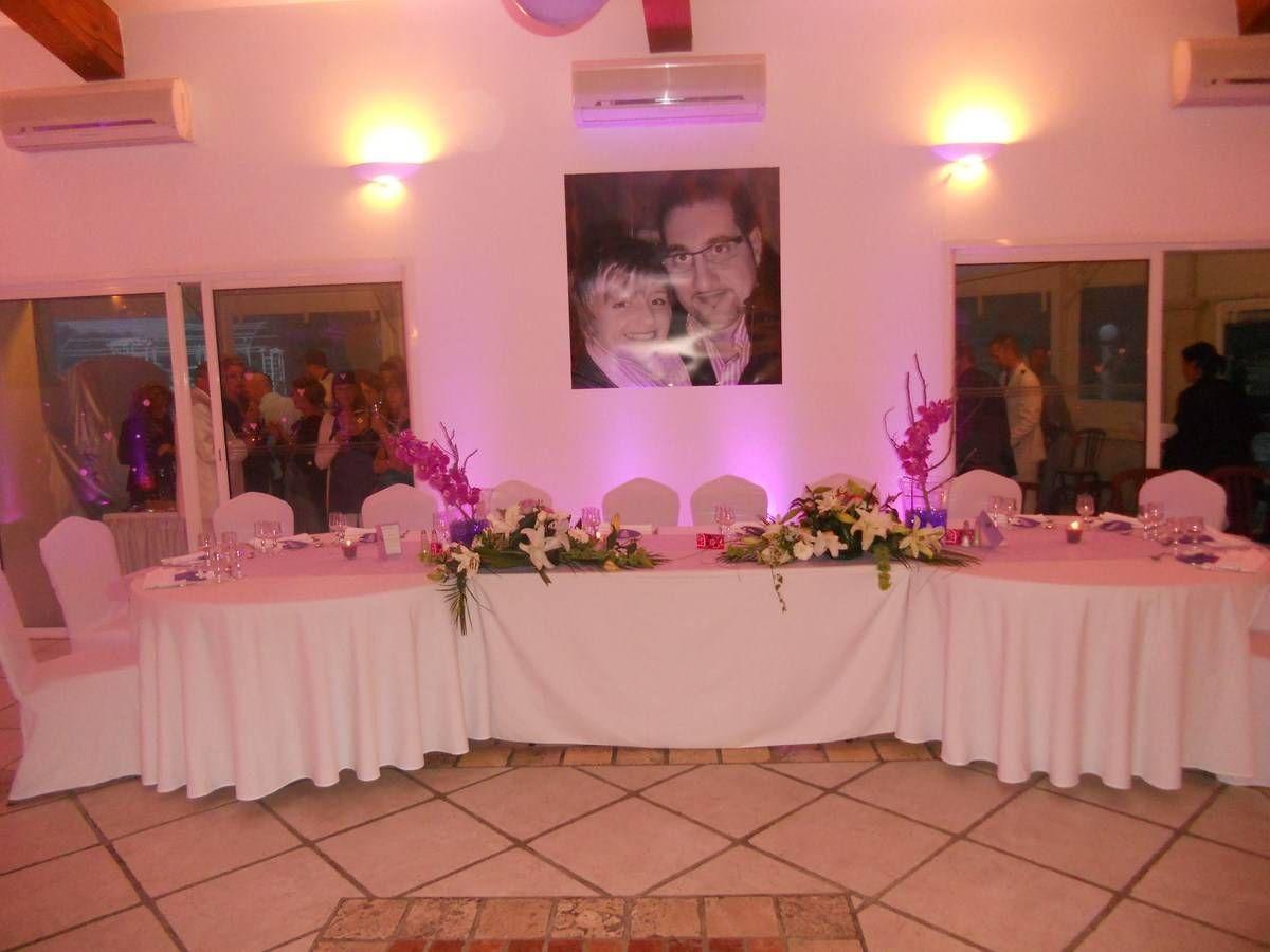 Table d 39 honneur deco mariage pinterest honneur table et mariages - Disposition table mariage ...