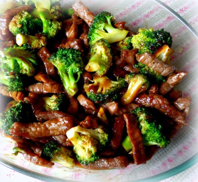 Beef and Broccoli from The English Kitchen #beefandbroccoli